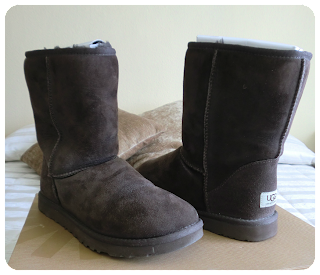 botin UGG marrón chocolate