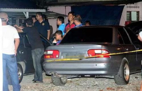 Gambar pegawai polis tembak isteri dan bapa mertua