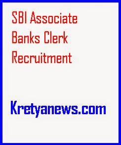 sbi associate banks clerk recruitment2014-15