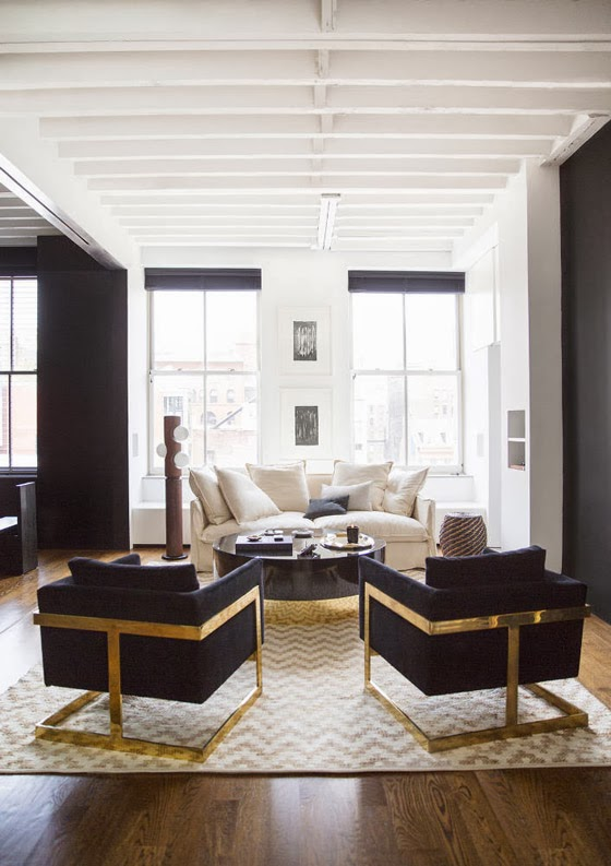 luxe manhattan flat designed by nate berkus and jeremiah brent t a n