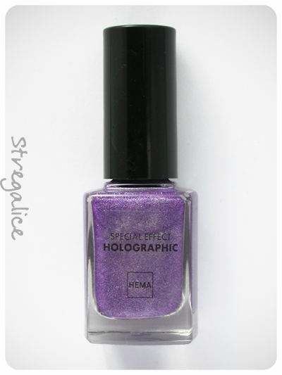 Hema Holographic Purple bottle holo