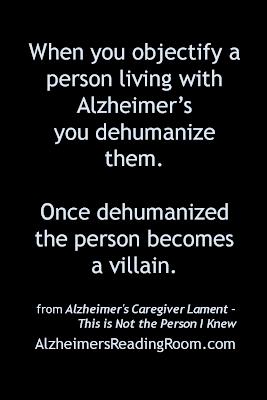 Alzheimer's Objectification