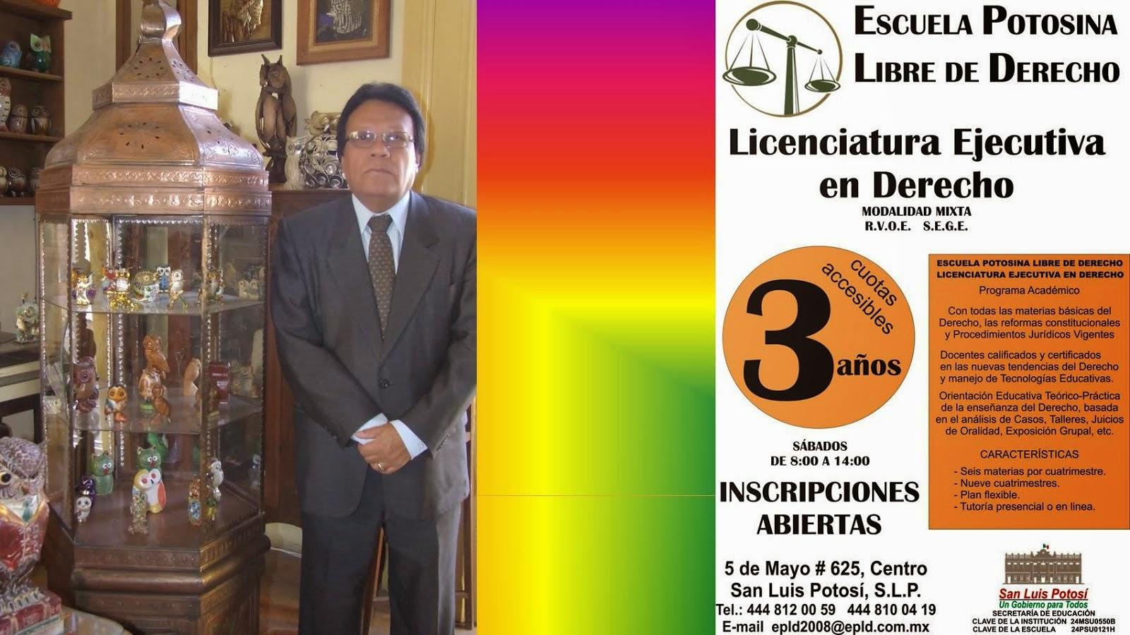 LICENCIATURA EJECUTIVA EN DERECHO.