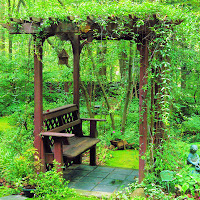 Arbor With Benches3