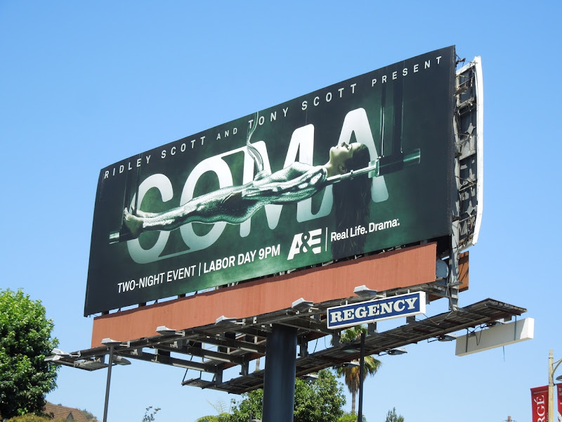 Coma TV remake billboard