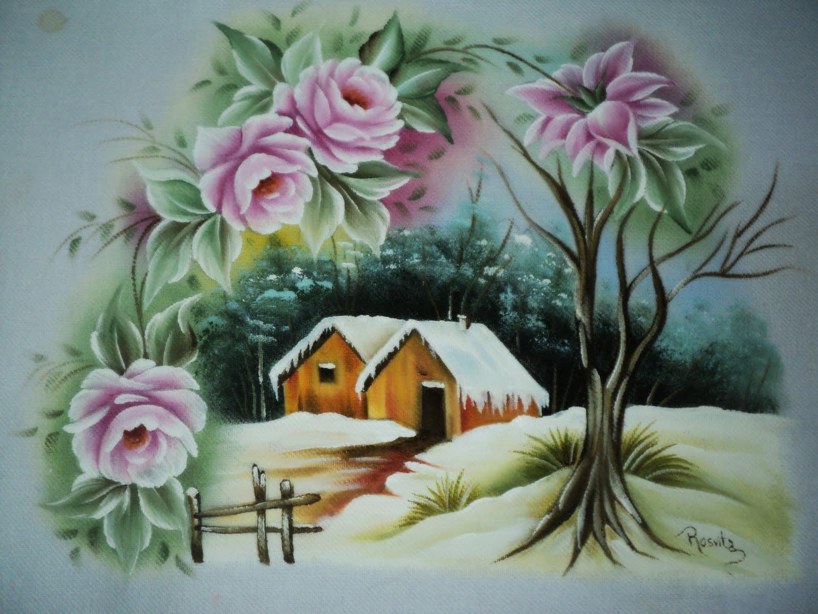 Rosvita artes pintura em tecidos e emborrachados pano - Pintura en tela dibujos ...