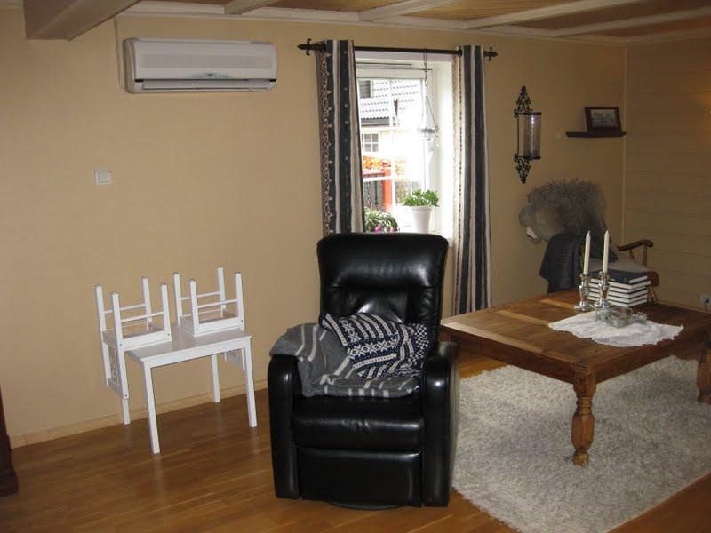 Vakre hjem melhus: ny stue på 9 dager!