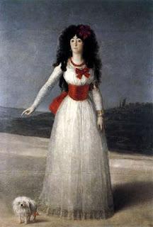 La duquesa de Alba de blanco - Goya