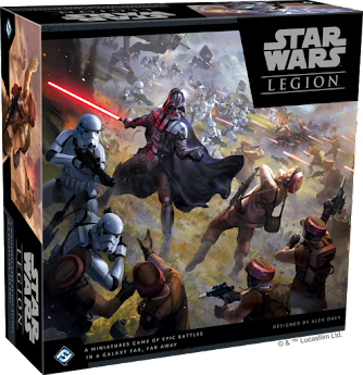 STAR WARS: LEGION MINIATURES GAME