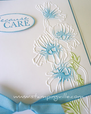 Flower Garden Textured Impressions Embossing Folder - Stampin' Up!
