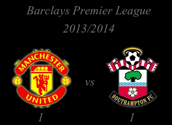 Manchester United v Southampton Result October 2013