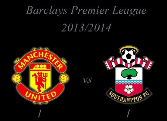 Manchester United v Southampton Result October 2013