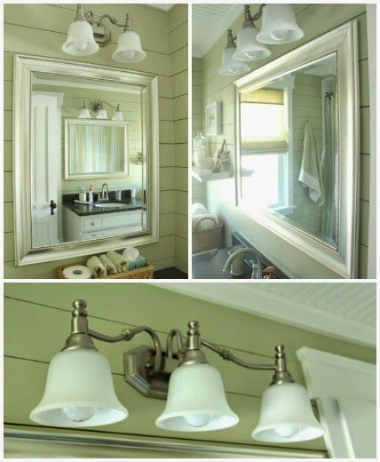 Mirrors and Light fixtures