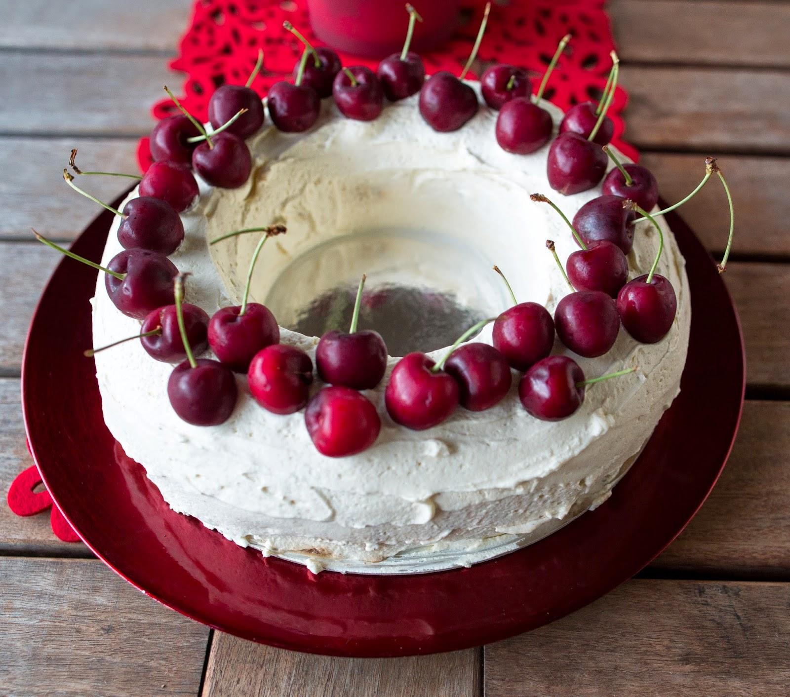 Decorating Chocolate Ripple Cake