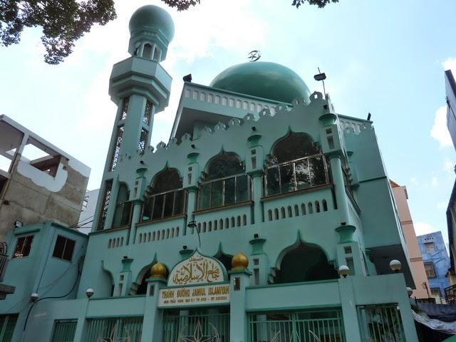 Phạm Hoài Nhân: Thánh đường Hồi giáo ở TP Hồ Chí Minh