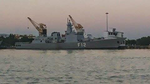 Myanmar installed 8 C-802 Anti Ship Missile on their first Homemade Stealth Frigate F12 - UMS Kyansittha