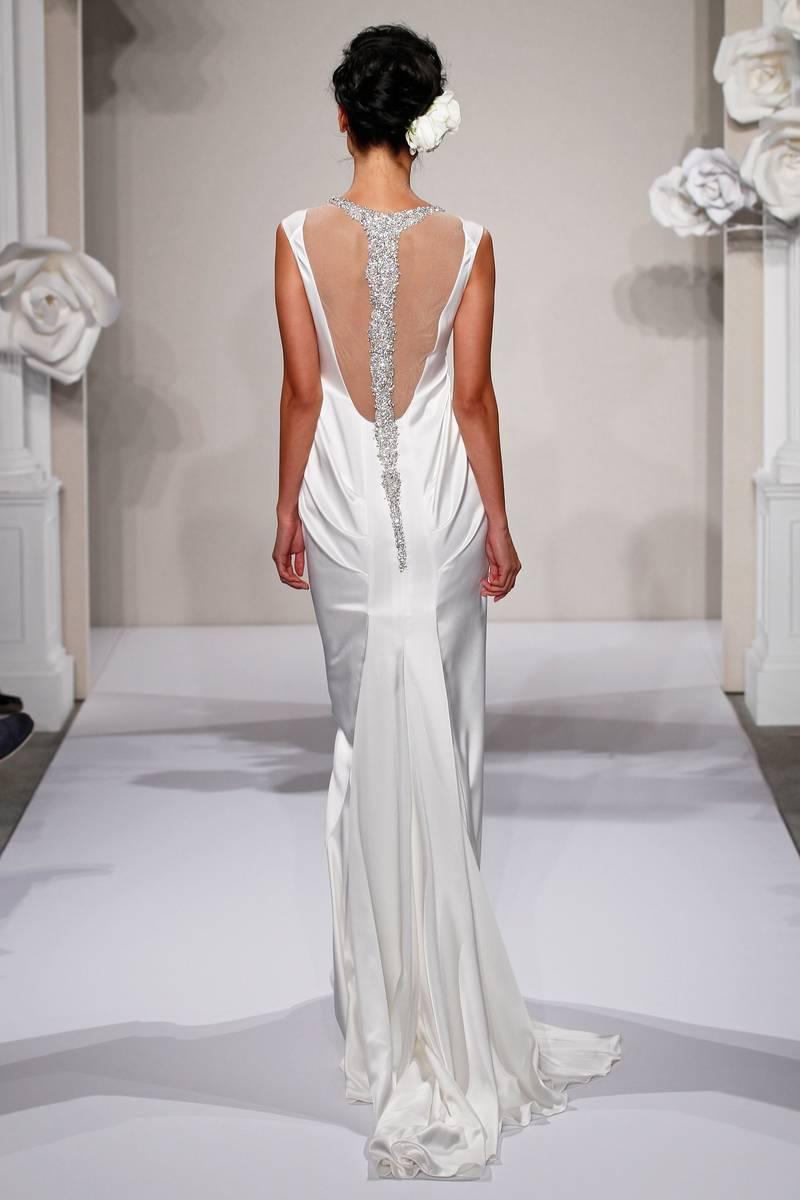 Renewal Wedding Dresses For The Beach : Down the aisle pnina tornai fall
