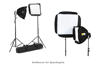 Softboxes for Flash