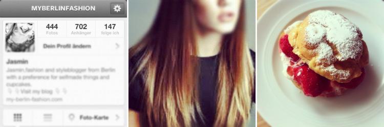 food hair instagram