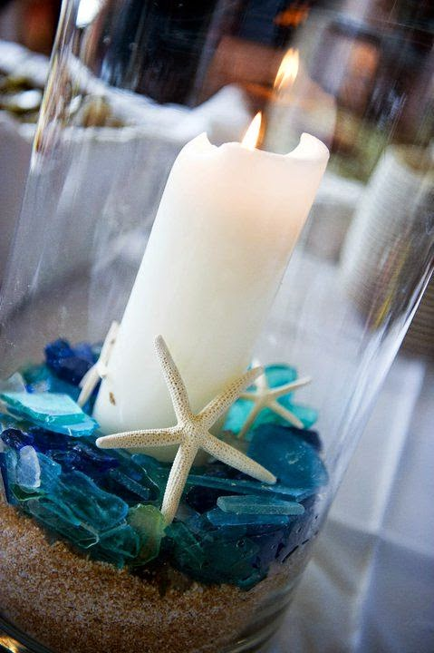 Crafty wedding candle centerpieces lots of love susan