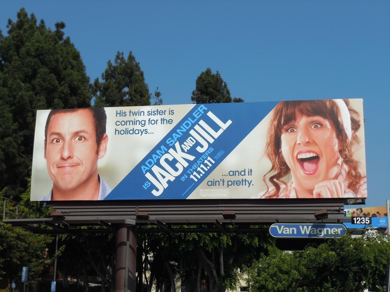 Daily Billboard Jack And Jill Movie Billboards