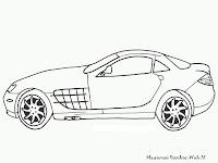 Mewarnai Mobil Mercedes-Benz SLR McLaren