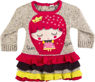 Tuc Tuc Girls Knitted Dress - Kingdom