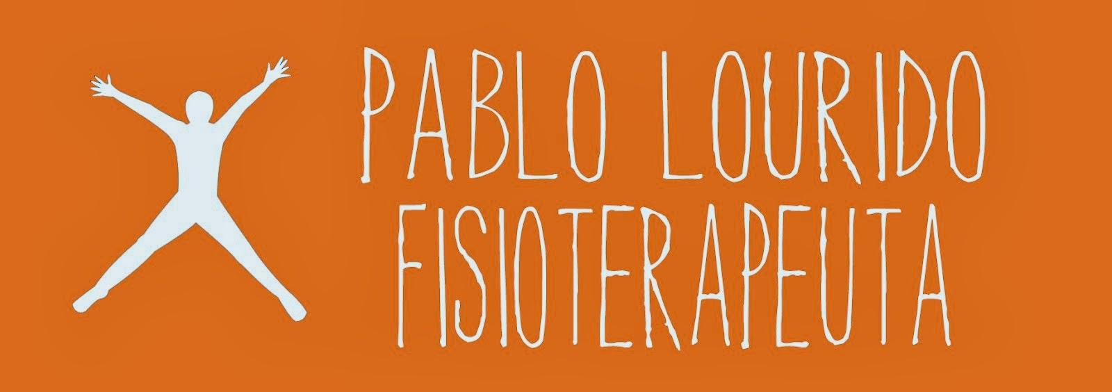 Pablo Lourido, Fisioterapeuta
