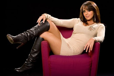 wwe layla el cleavage