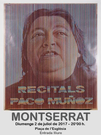 PACO MUÑOZ CANTA A MONTSERRAT