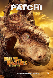 patchi  in Walking with Dinosaurs official character movie poster malaysia release