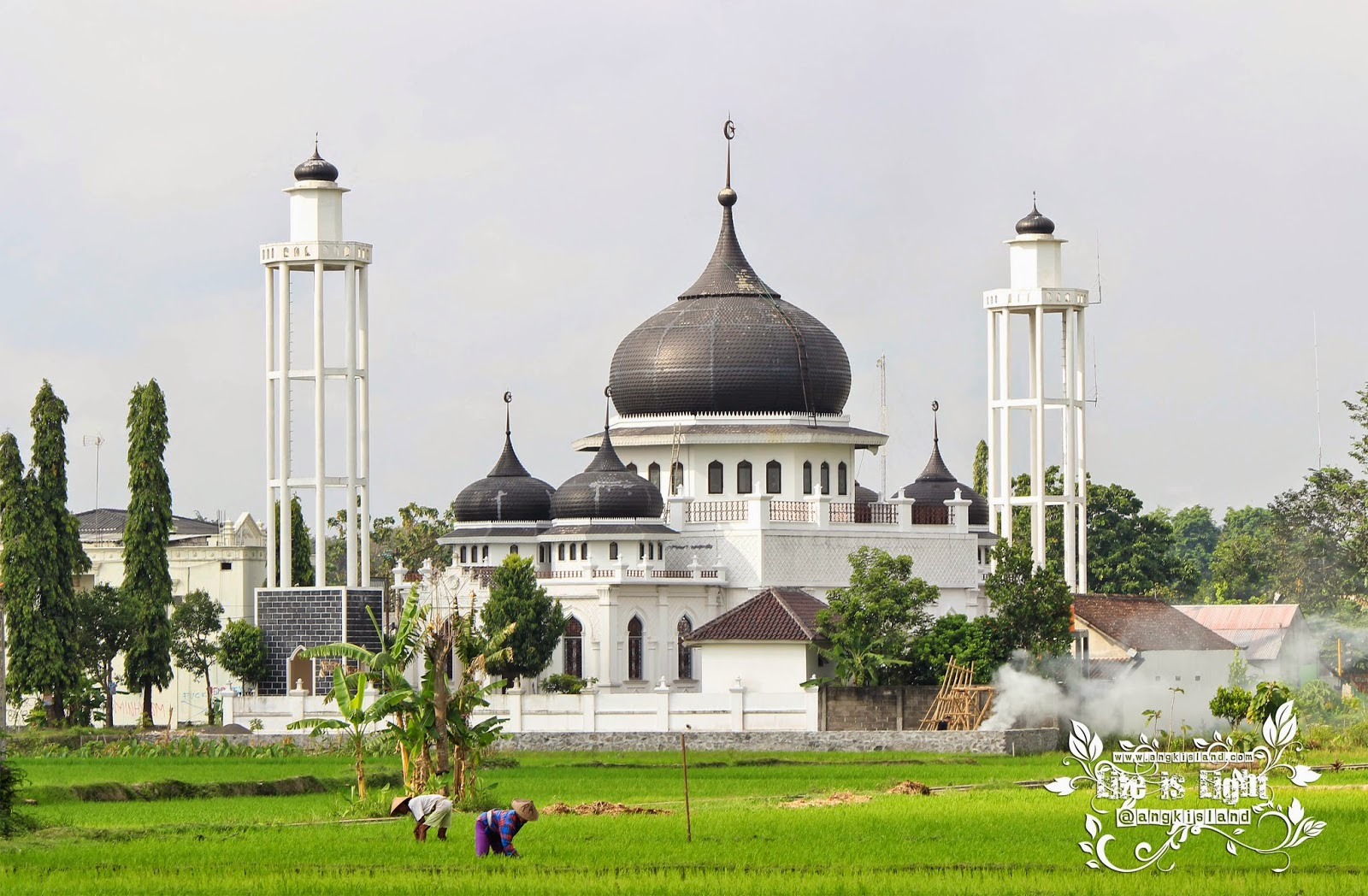 masjid miniatur baiturrahman Aceh di Yogyakarta