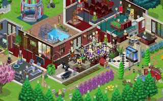 Zynga's The Ville Game play Screenshot