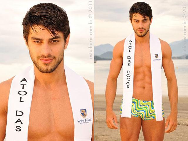 Renan Oliveira representou o Atol das Rocas no Mister Brasil 2011. Foto: Estúdio Xis
