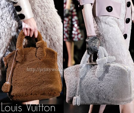 Louis Vuitton чанти от агнешка кожа