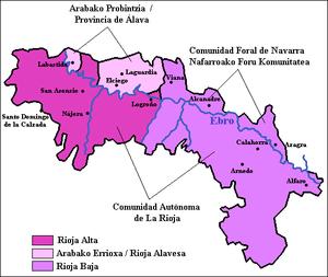 MAPA RIOJA ALAVESA
