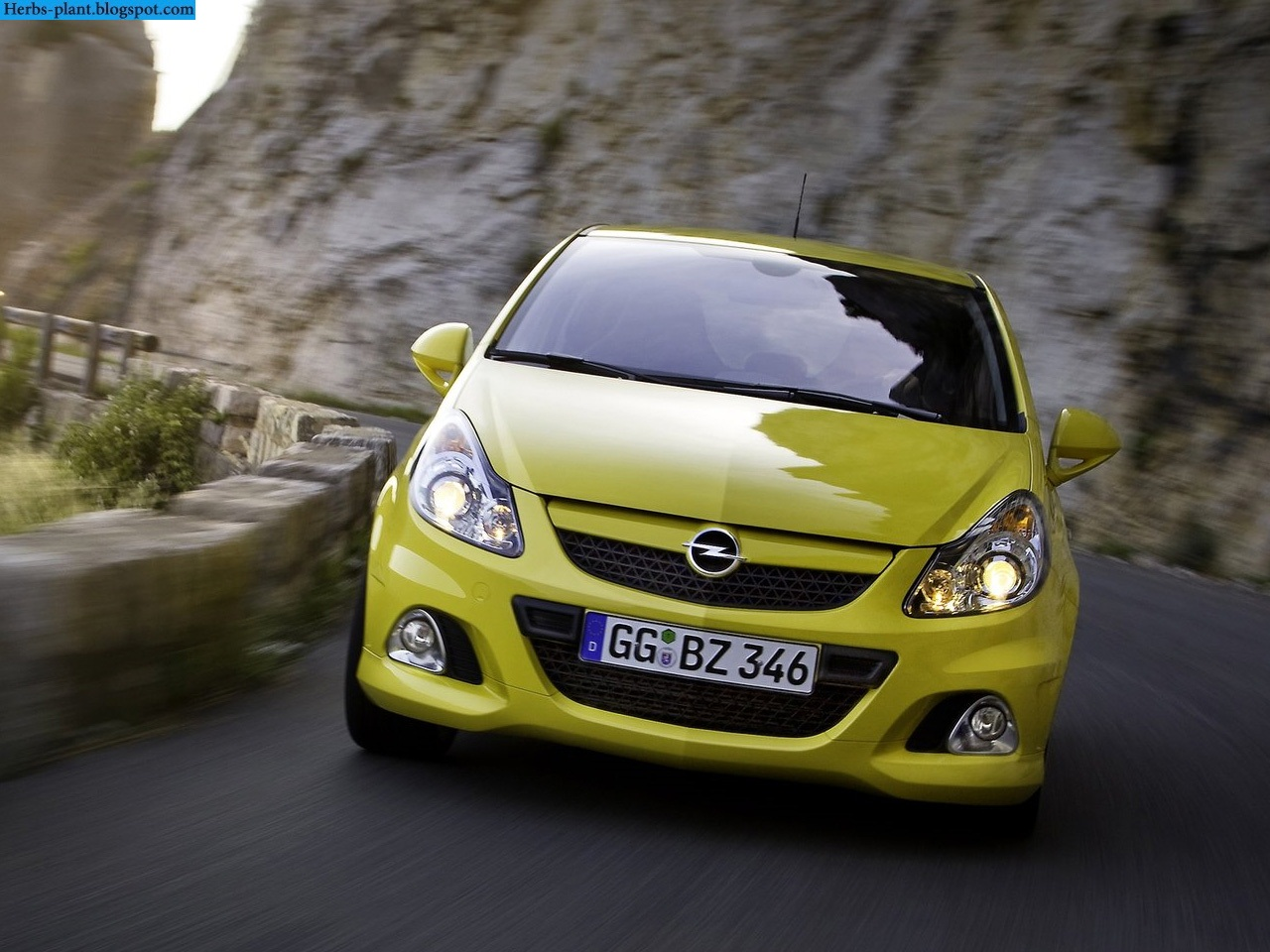 Opel corsa car 2013 front view - صور سيارة اوبل كورسا 2013 من الخارج