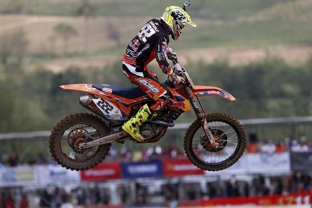 KTM dominiert Motocross-Rennen in Thailand