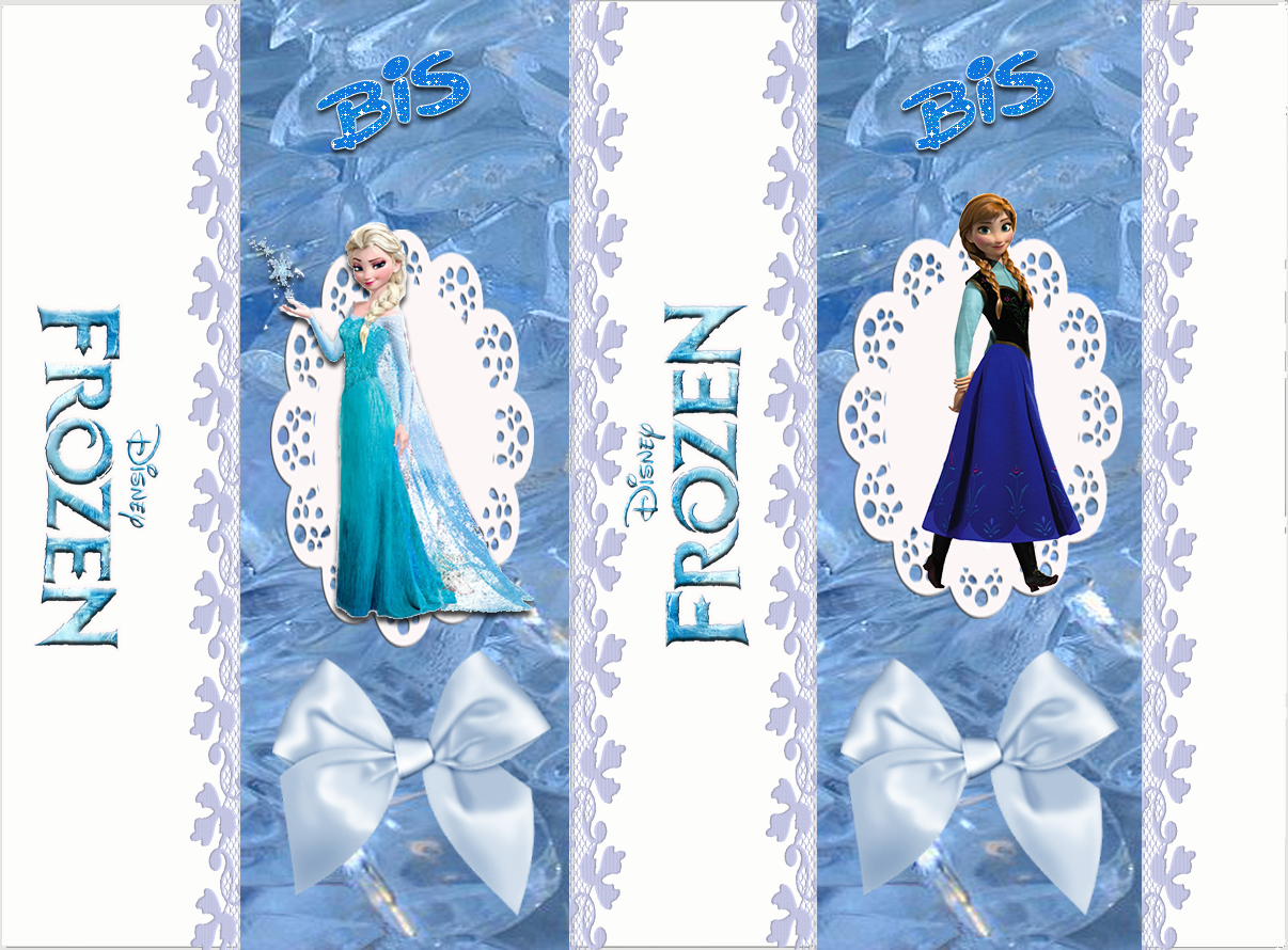 It's just a graphic of Divine Frozen Printable Labels