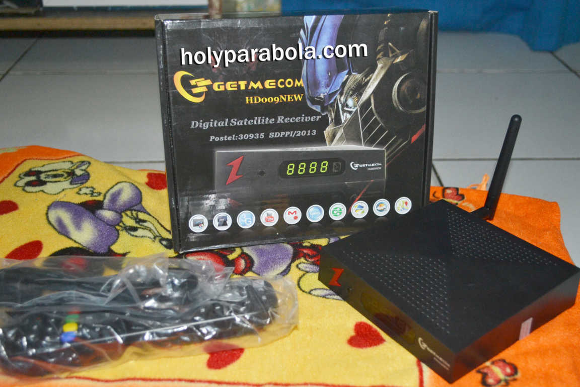 Receiver Getmecom HD009NEW