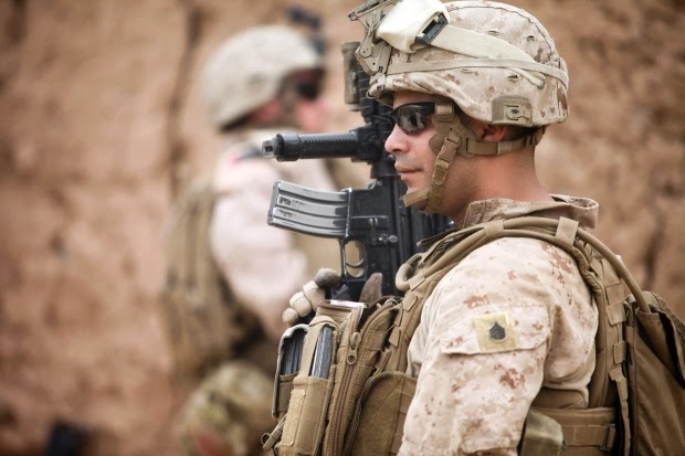 Military News - Marine's inner struggle is the fight of his life