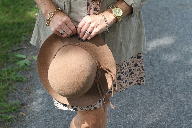 nordstrom floppy hat, michael kors runway watch