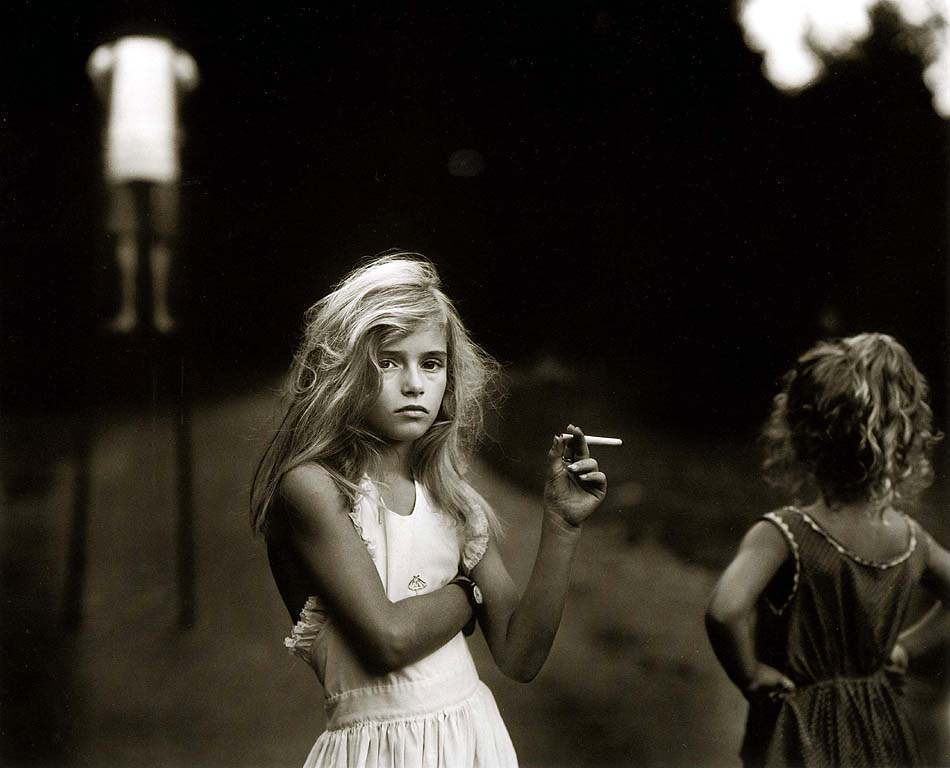 essays candy cigarette sally mann If i was to ask you to name an american 20th century portrait photographer, i think sally mann's name would probably not be the first one to come up.