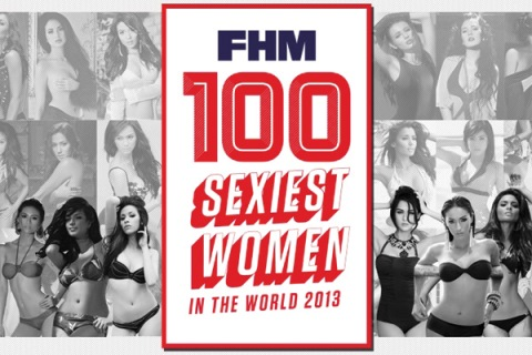 FHM 100 Sexiest Women in the World 2013 Full List