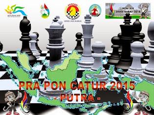 Pra PON Catur 2015 Putra - Ketentuan Umum dan Peraturan Pertandingan