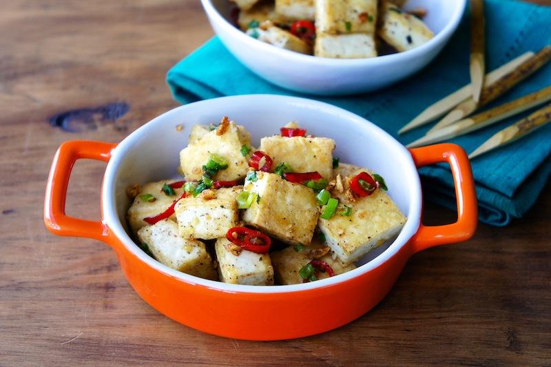 Seasaltwithfood: Pan-Fried Black Pepper Tofu