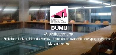 Twitter de la BUMU...@bibliotecaumu
