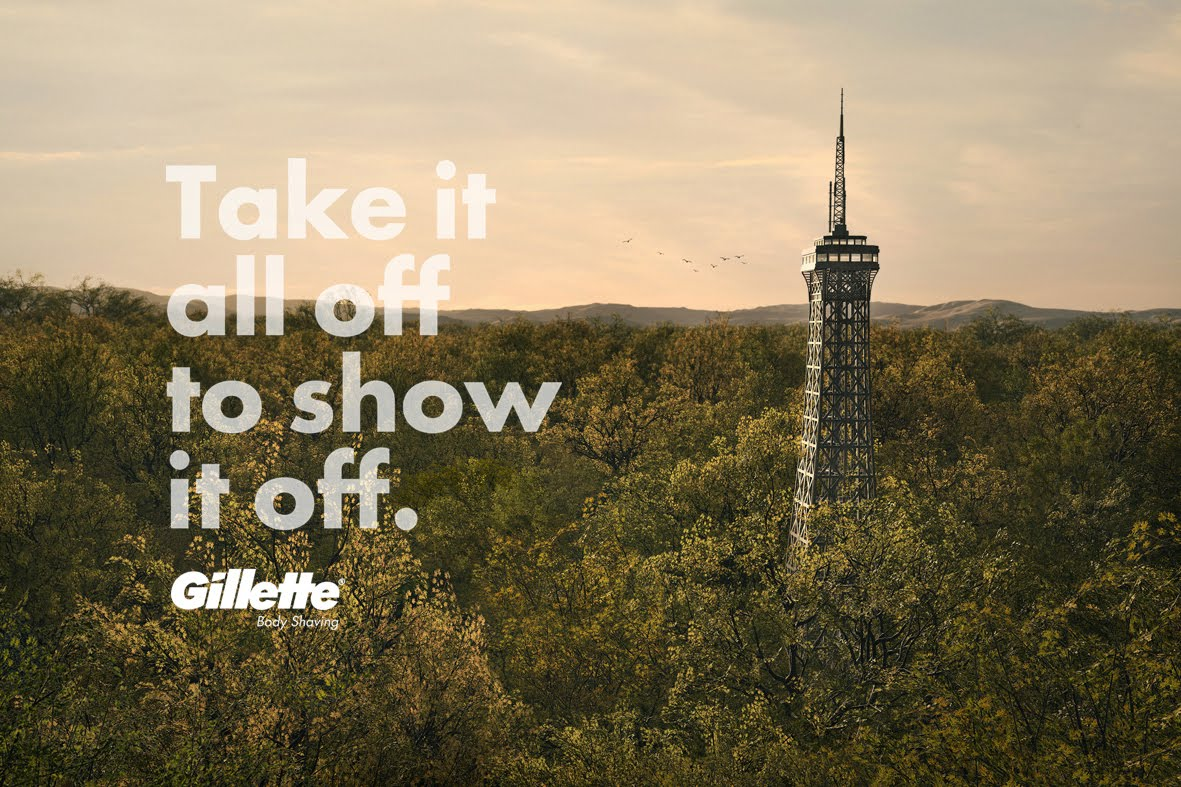EIFFEL TOWER - GILLETTE - MONUMENTS - BBDO MEXICO