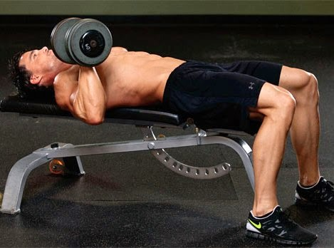 One-Arm Dumbbell Bench Press