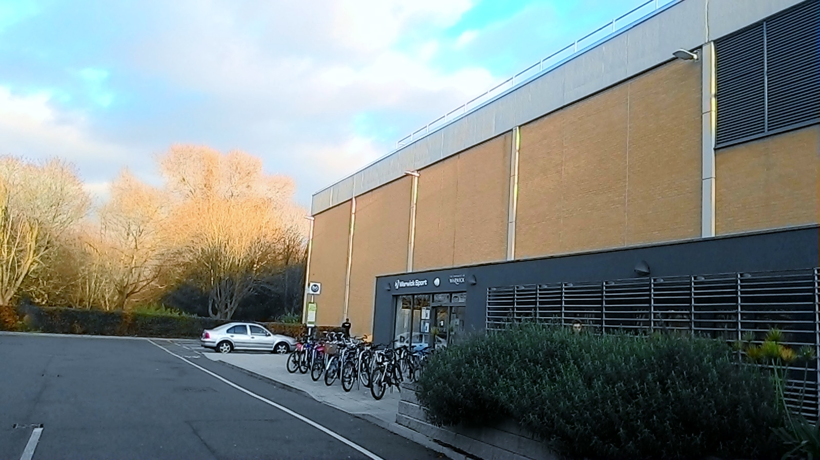 Gelama Busuk Cafe Library Warwick Uni
